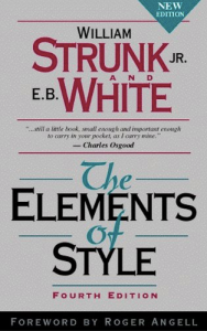 The Elements of Style, Strunk and White